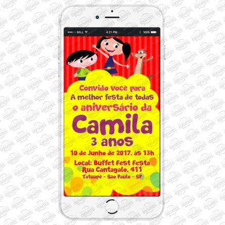 convite show da Luna Virtual
