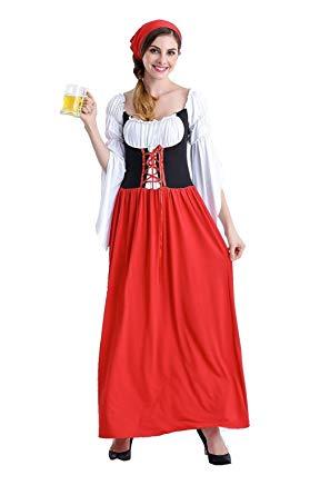 fantasia alemã Feminina