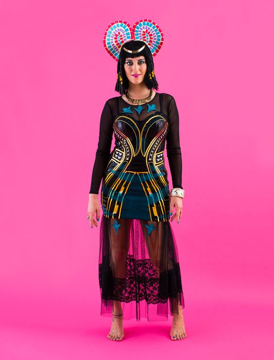 fantasia cleopatra Criativa