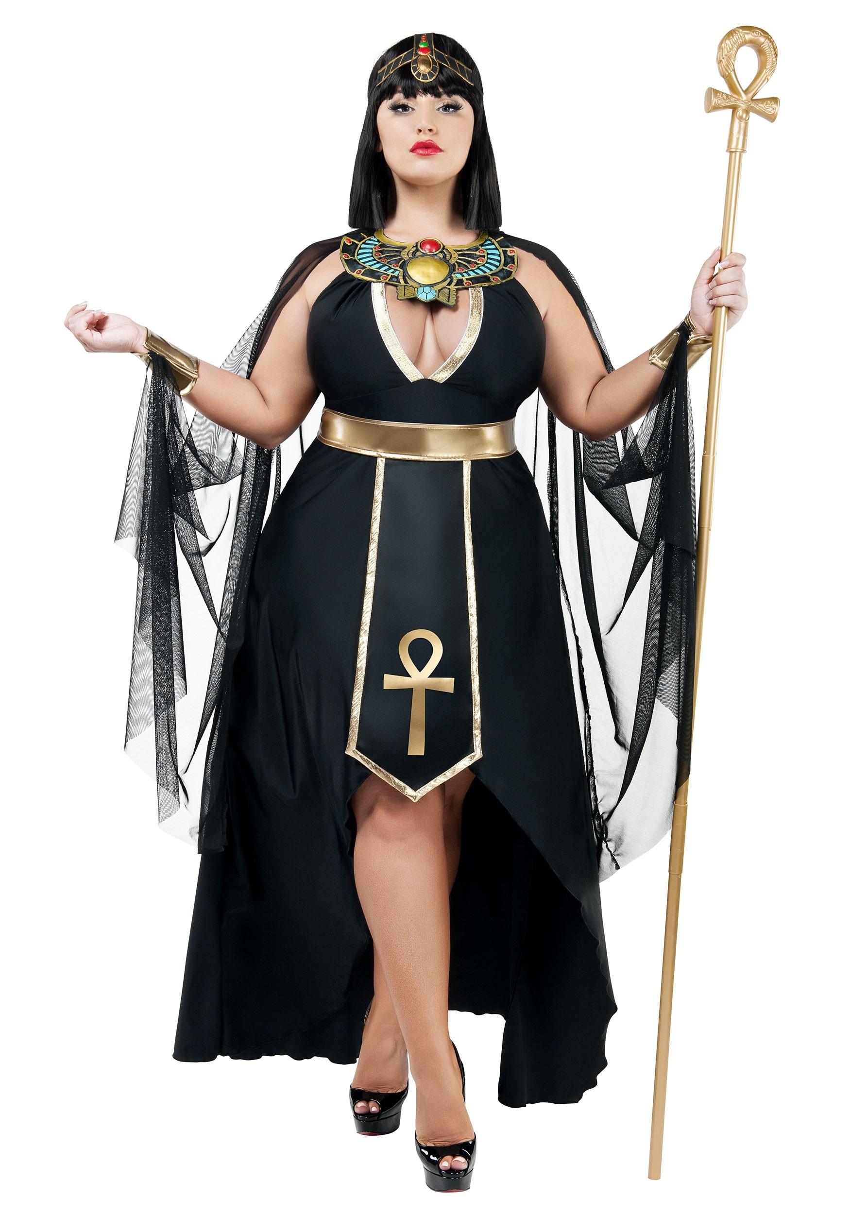fantasia cleopatra Preta