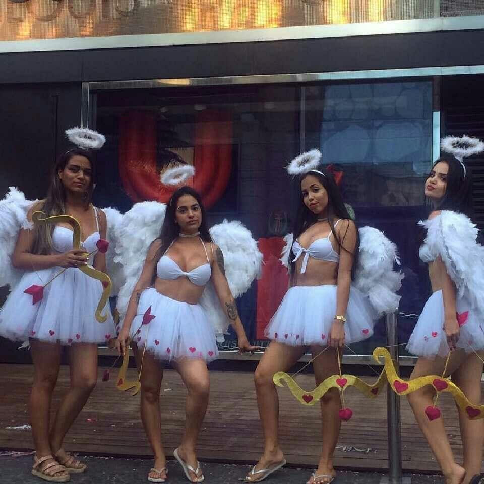 fantasia cupido Carnaval