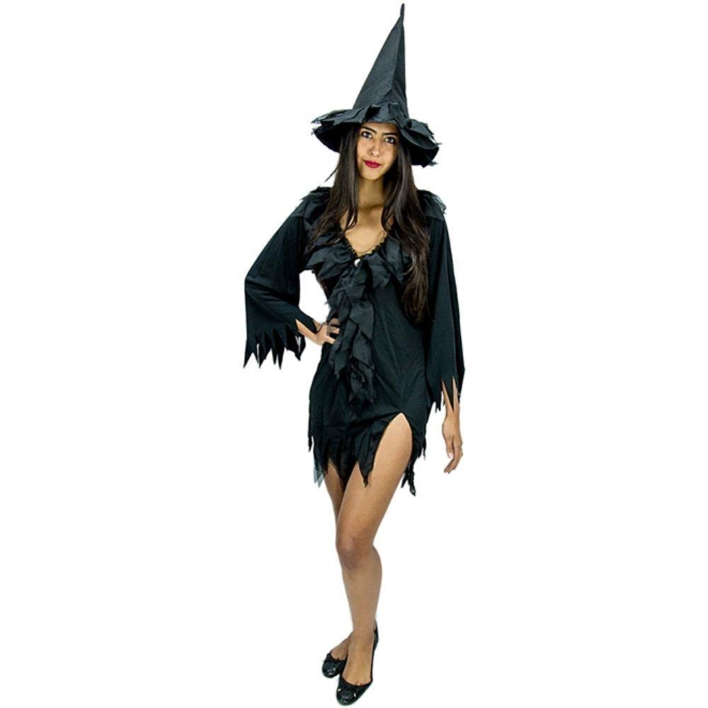 fantasia de bruxa Feminina