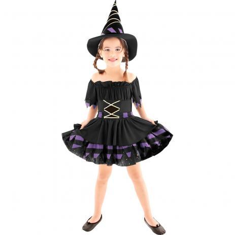 fantasia de bruxa Infantil