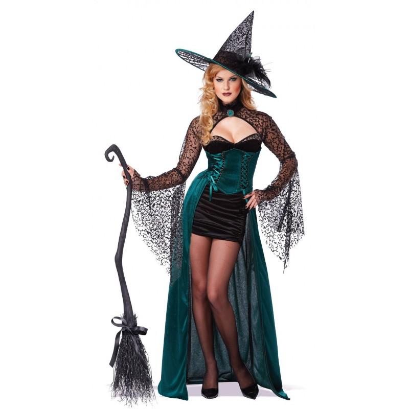 fantasia de bruxa Moderna