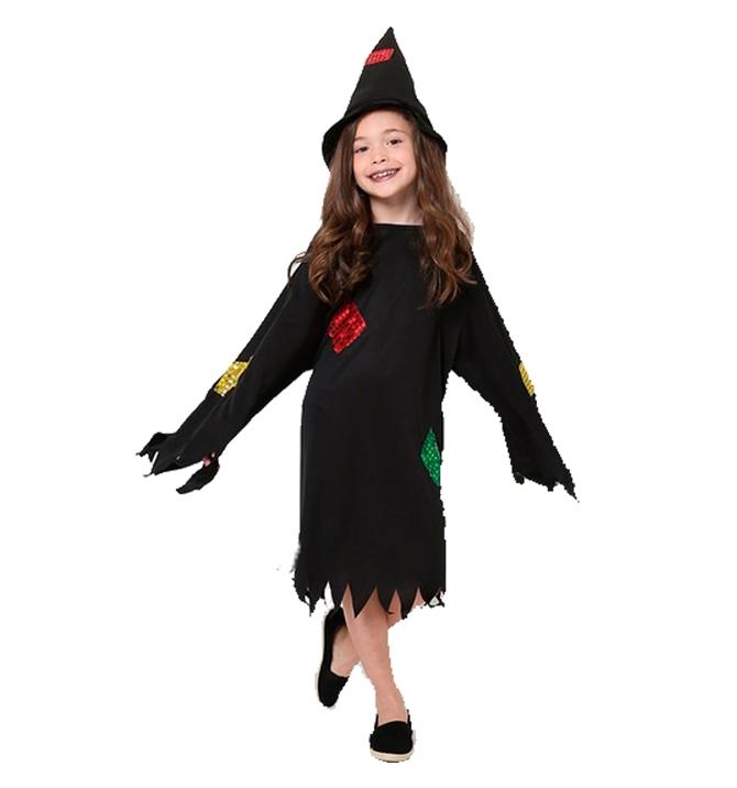 fantasia de bruxa Simples
