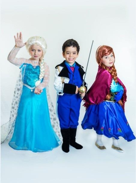 fantasia frozen Infantil