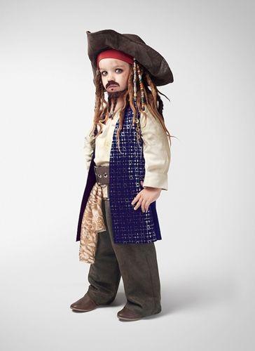 fantasia jack sparrow Infantil