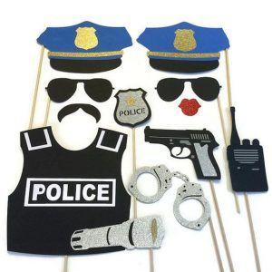 fantasia policial Improvisada