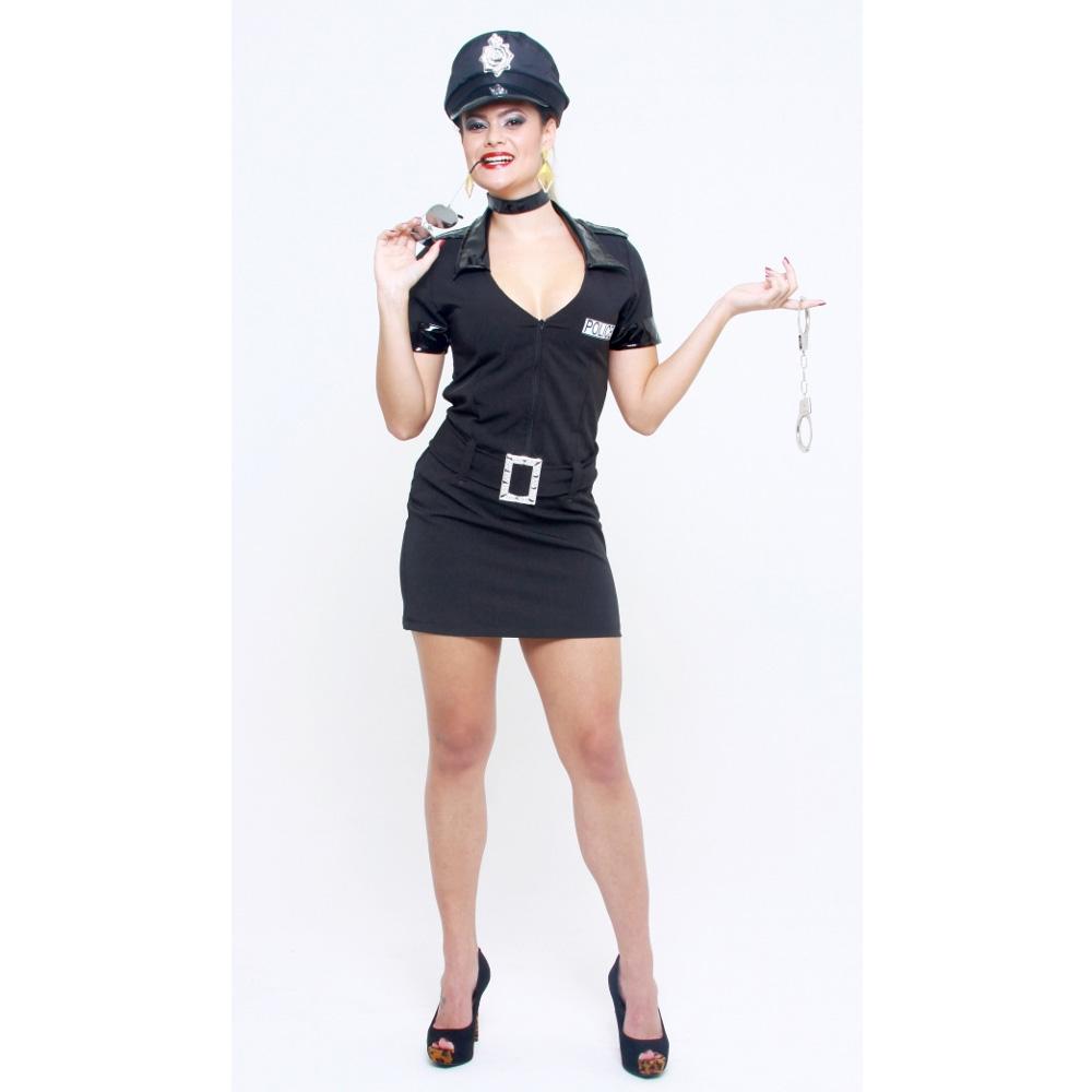 fantasia policial Para Festa