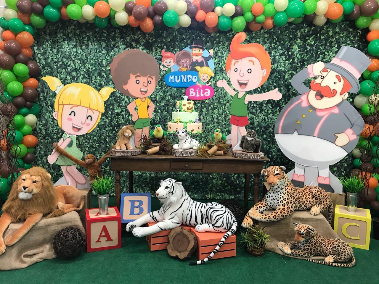 festa mundo bita E os Animais