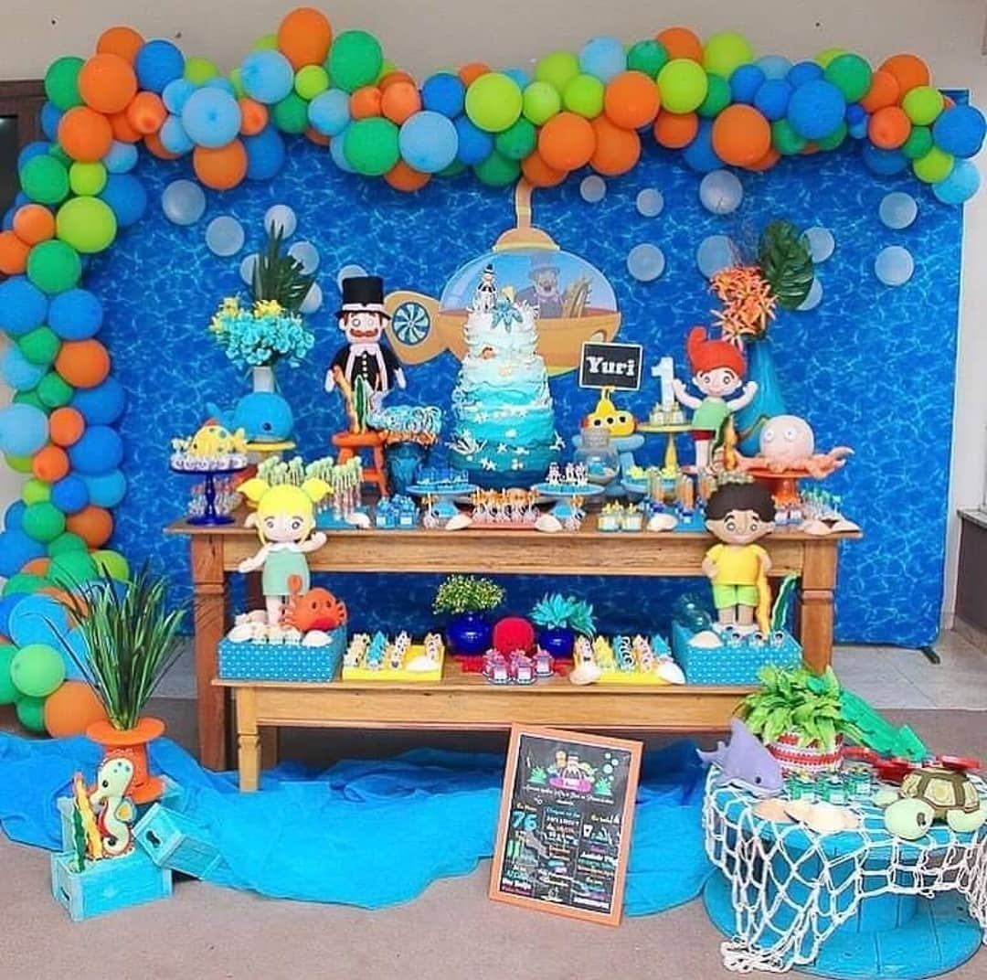 festa mundo bita Fundo do Mar