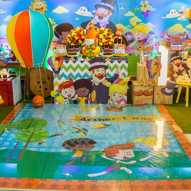 festa mundo bita Luxo