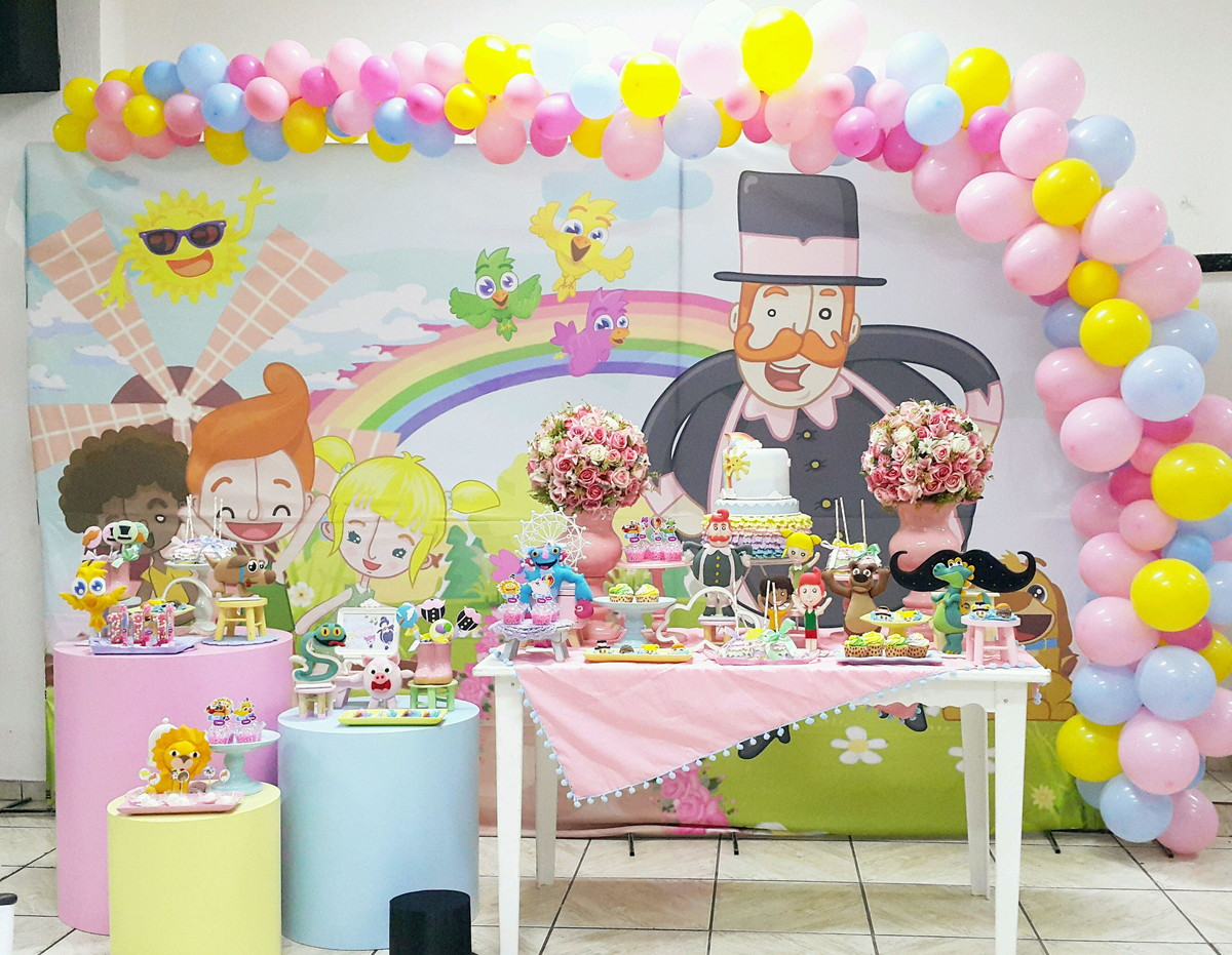 festa mundo bita Rosa