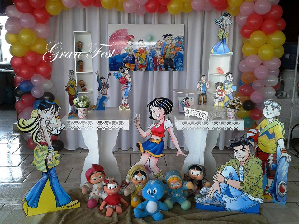 festa turma da mônica Jovem