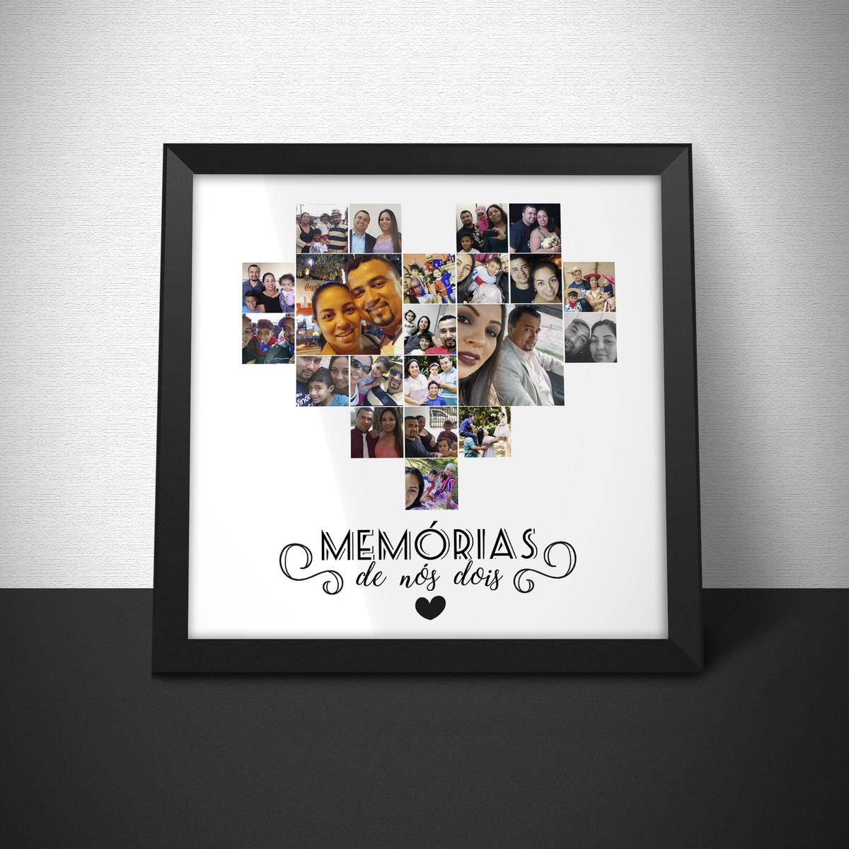 Lembrancinha Dia dos Namorados Com Fotos