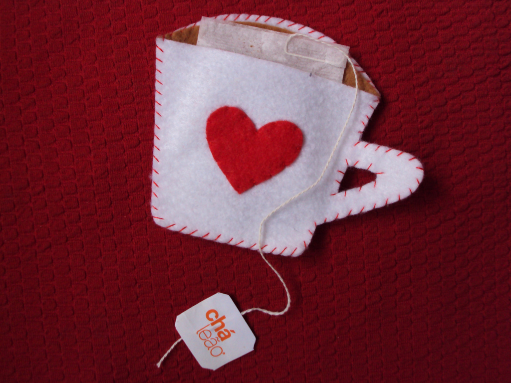 lembrancinha em feltro Para Chá de Cozinha