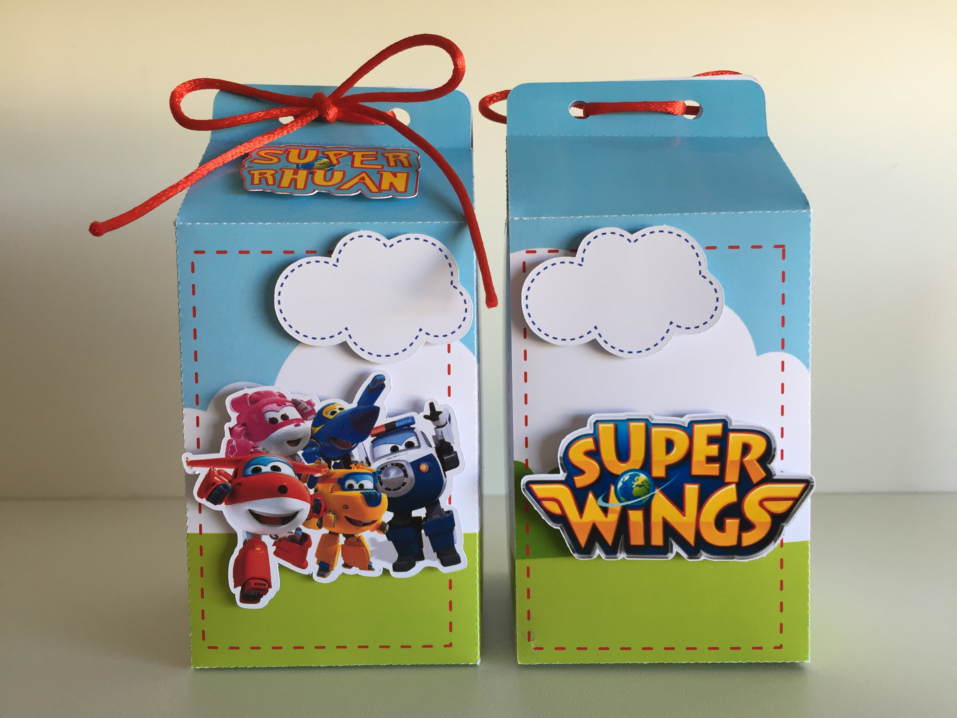 lembrancinha super wings Scrap
