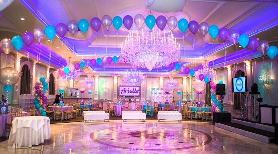 festa azul tiffany E Roxo