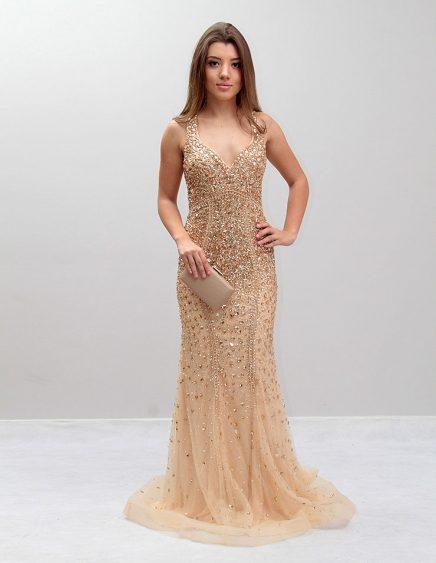 vestido de formatura Longo