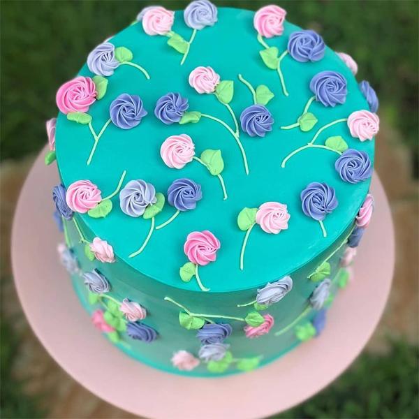 bolo de aniversario infantil Feminino