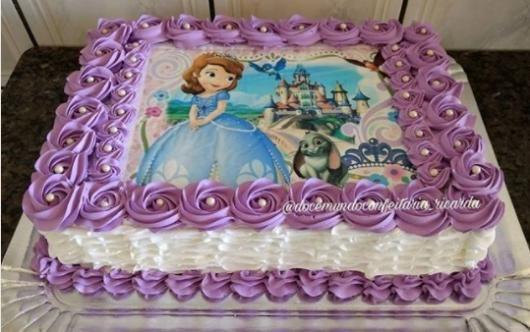 bolo de aniversario infantil Papel Arroz