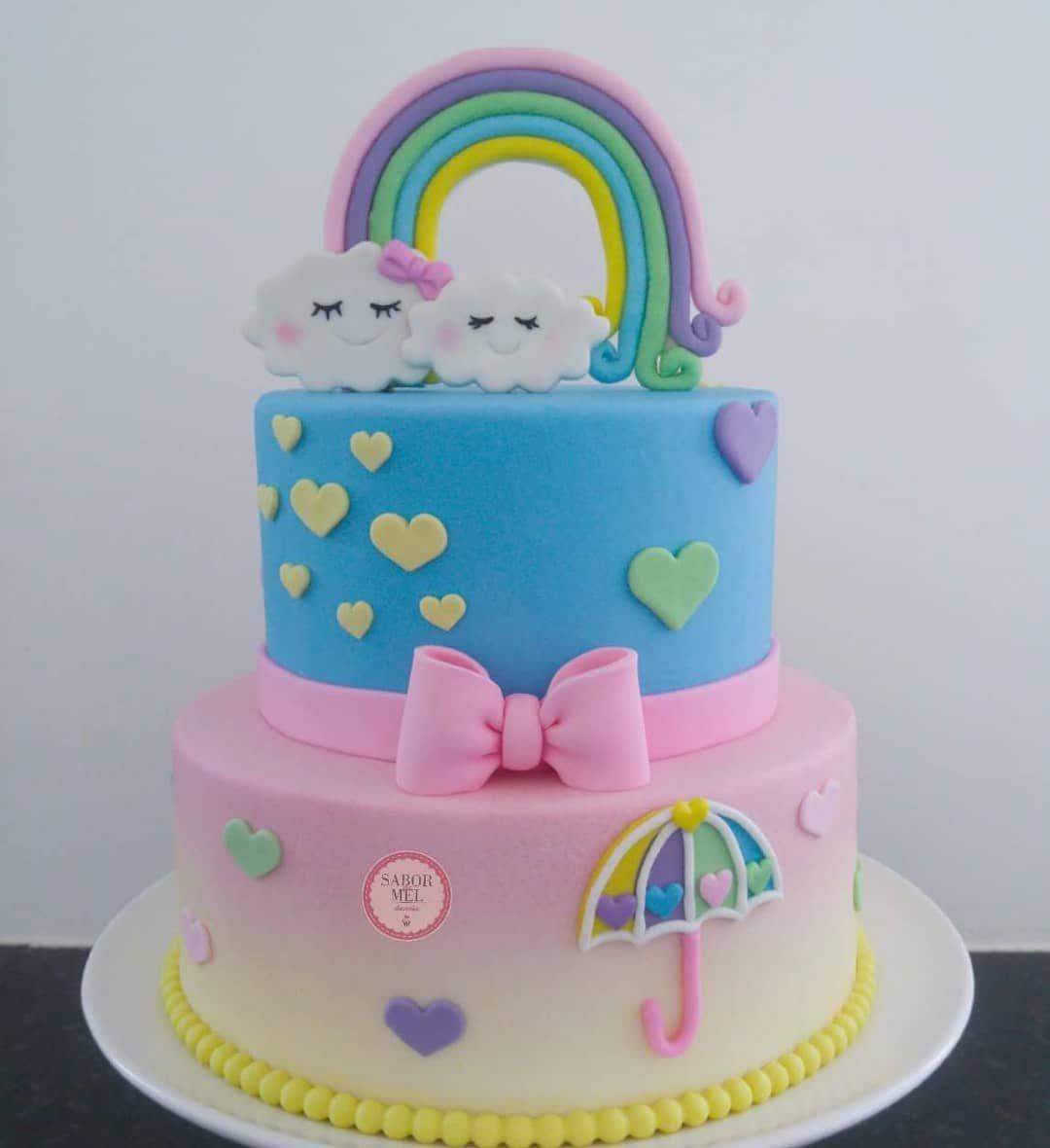 bolo de aniversario infantil Pasta Americana