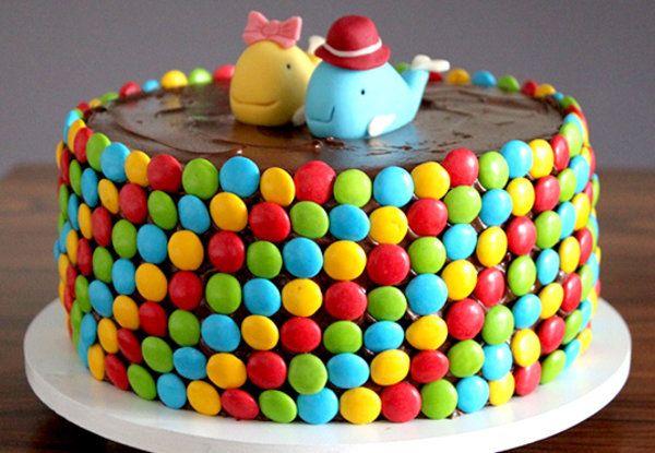 bolo de aniversario infantil Simples