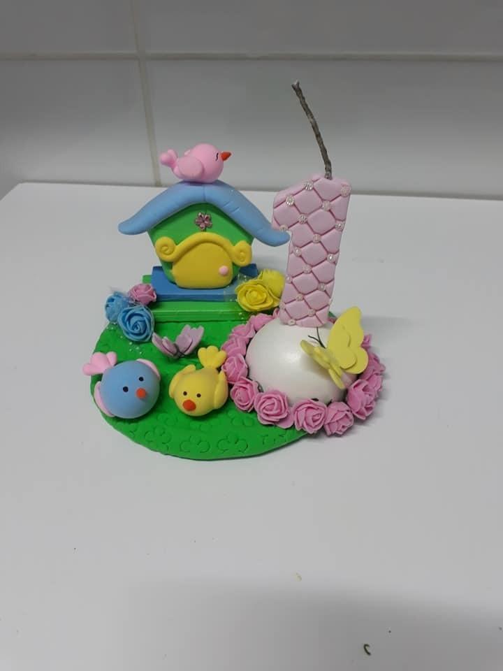 bolo de aniversario infantil Topo de Bolo