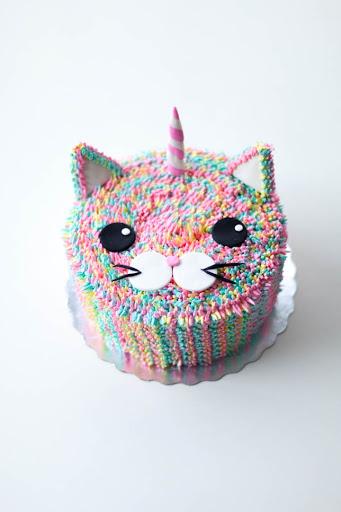 bolo de aniversario infantil Unicórnio