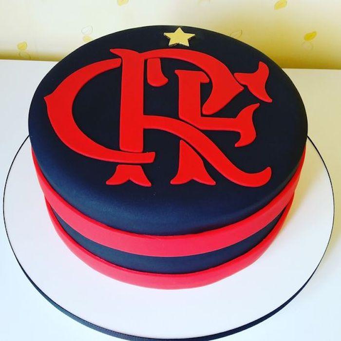 Bolo de Aniversário Masculino Flamengo