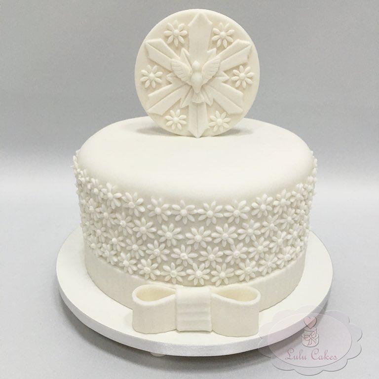 bolo primeira comunhao Pasta Americana