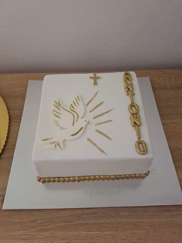 bolo primeira comunhao Quadrado