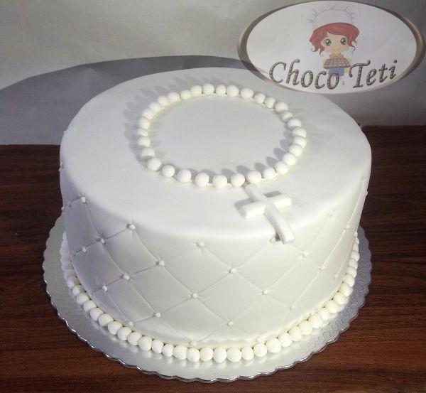 bolo primeira comunhao Simples