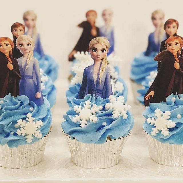 cupcake da frozen Frozen 2