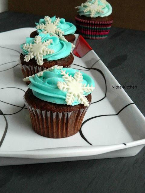 cupcake da frozen Frosting