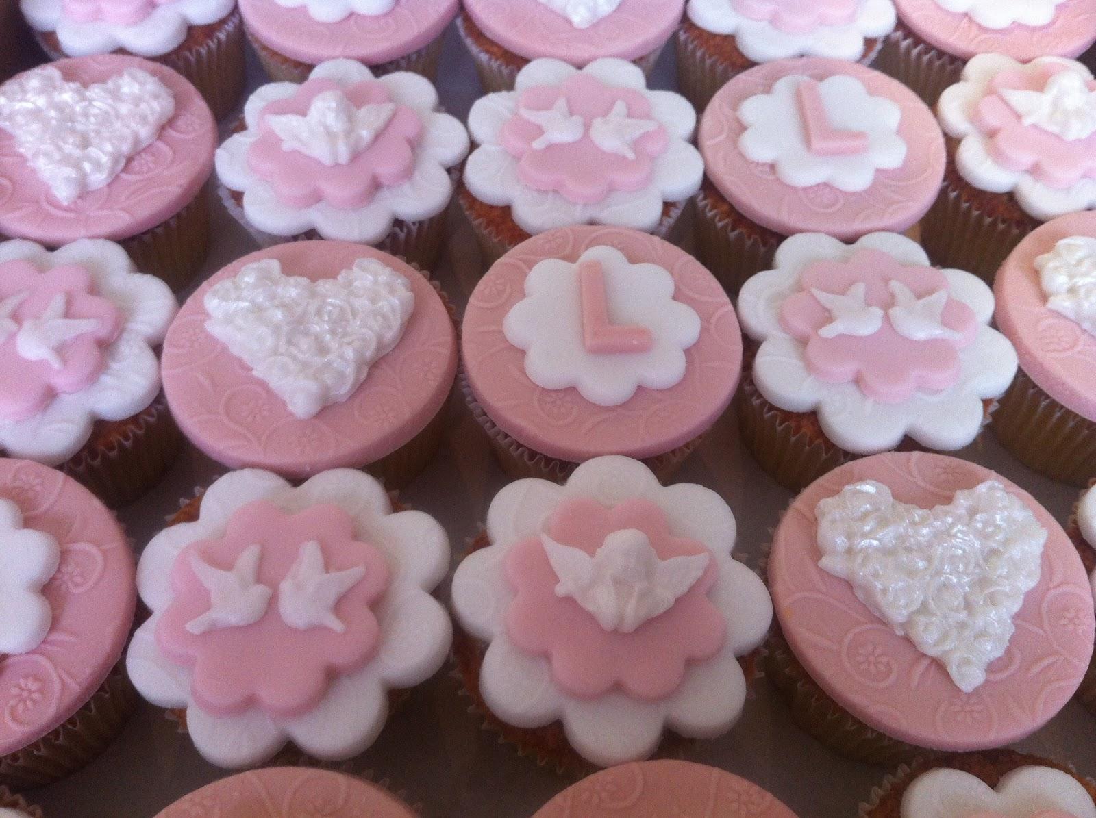 Cupcake Para Batizado Personalizado