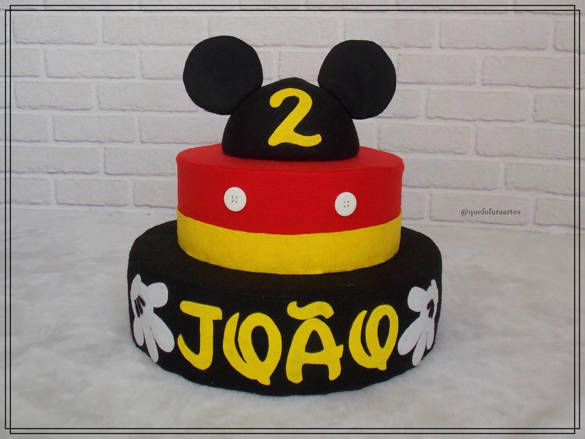Bolo Personalizado Do Mickey