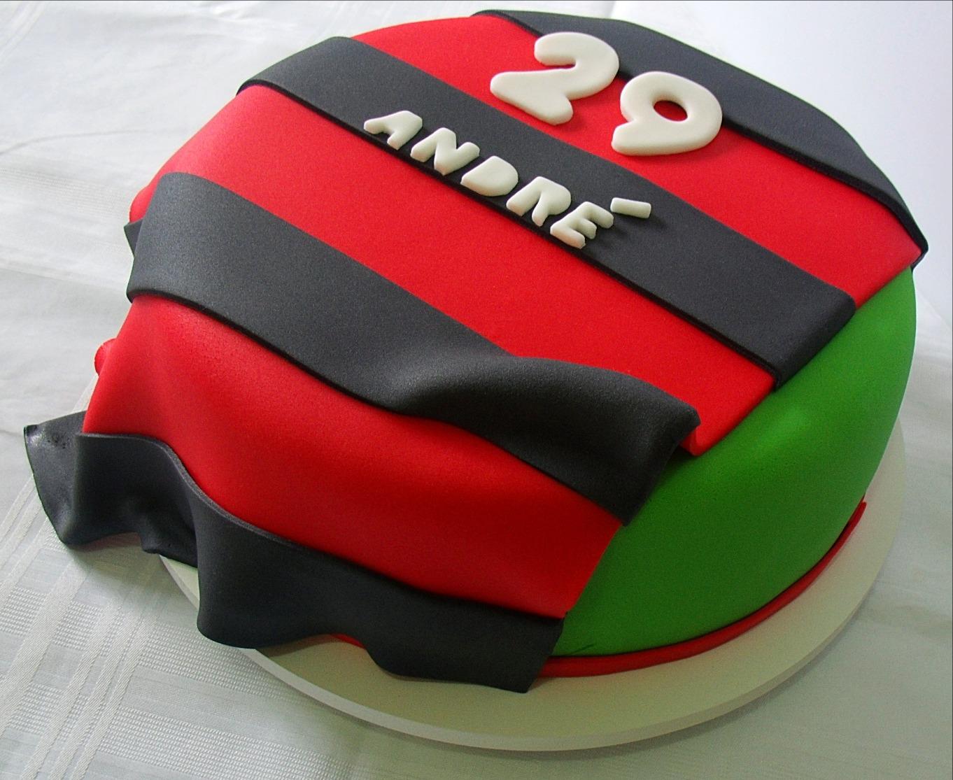 Bolo Personalizado Flamengo
