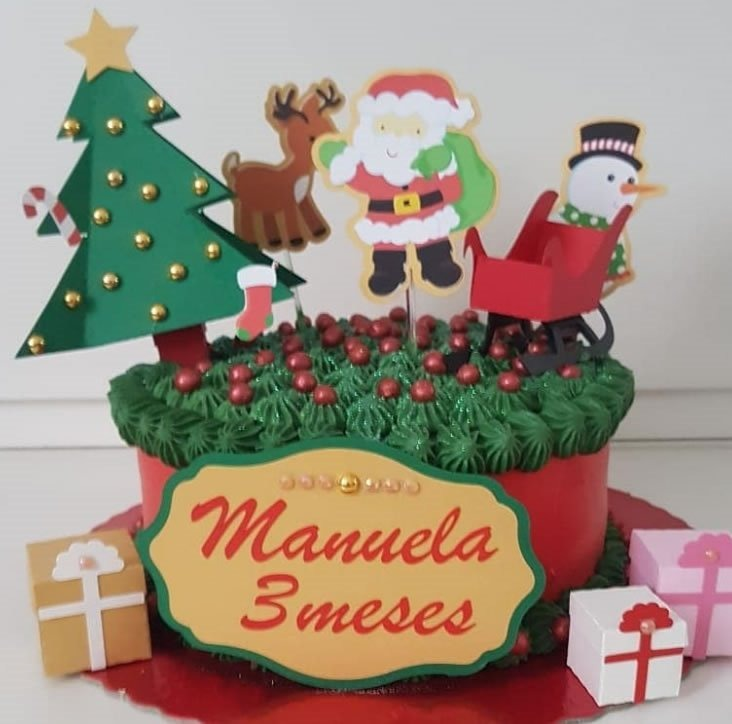 Bolo Personalizado Natal