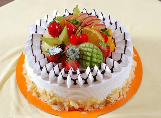 Bolo Tropical De Frutas