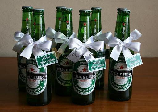 Lembrancinha Chá Bar Heineken