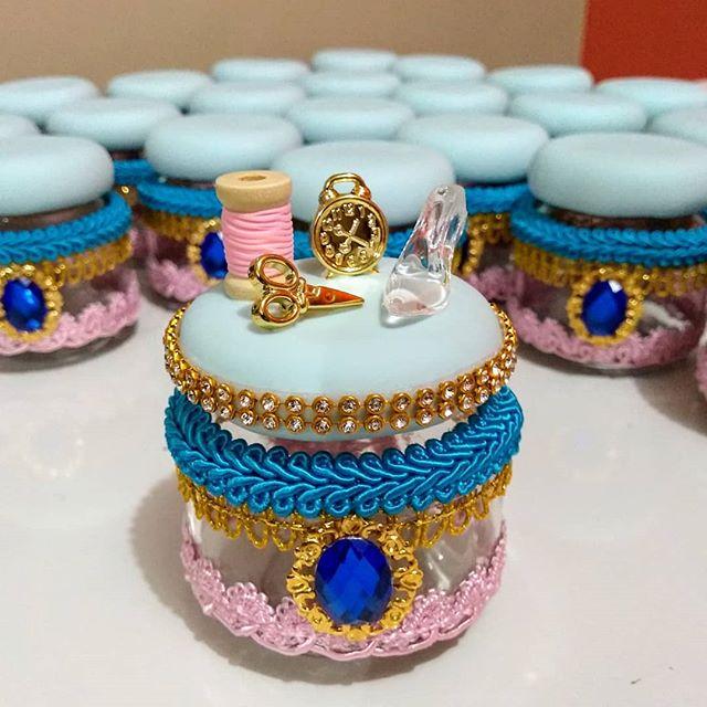 Lembrancinha Cinderela Luxo