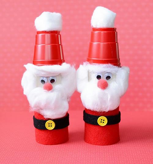 Lembrancinha Com Copo Descartável Natal
