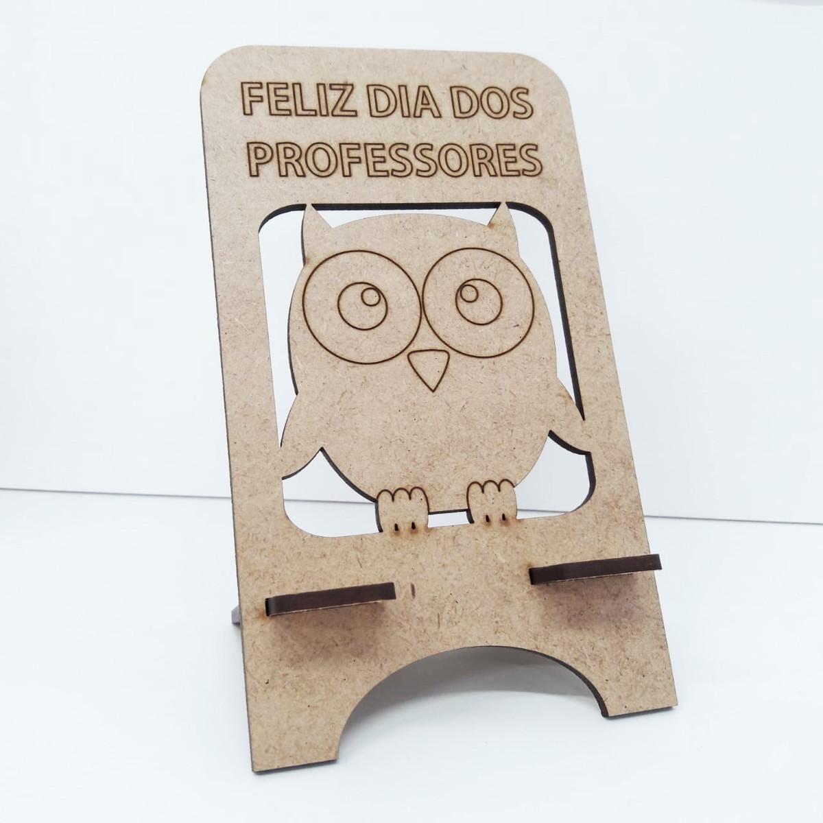 Lembrancinha em MDF Dia dos Professores