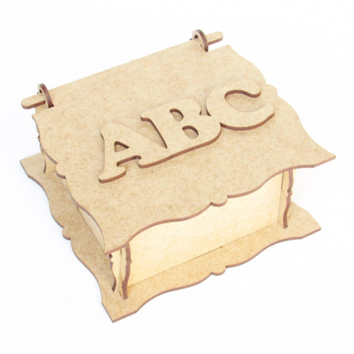 Lembrancinha em MDF Formatura do ABC