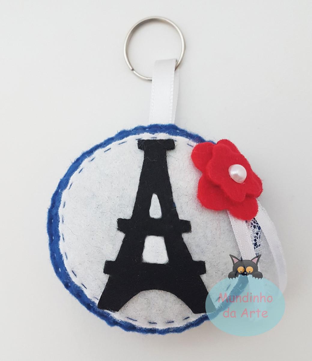 Lembrancinha Tema Paris Feltro