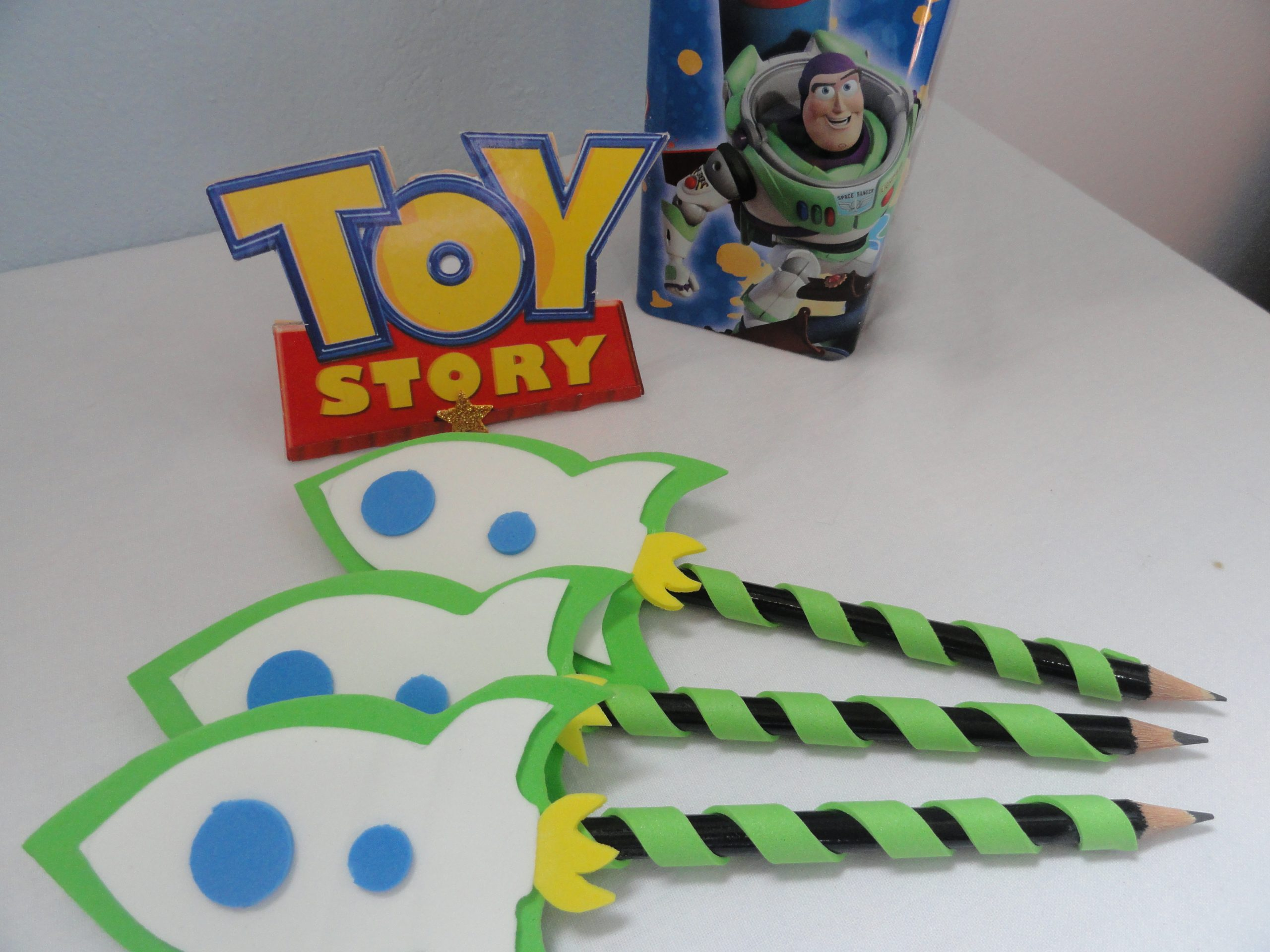 Lembrancinha Toy Story E.V.A.