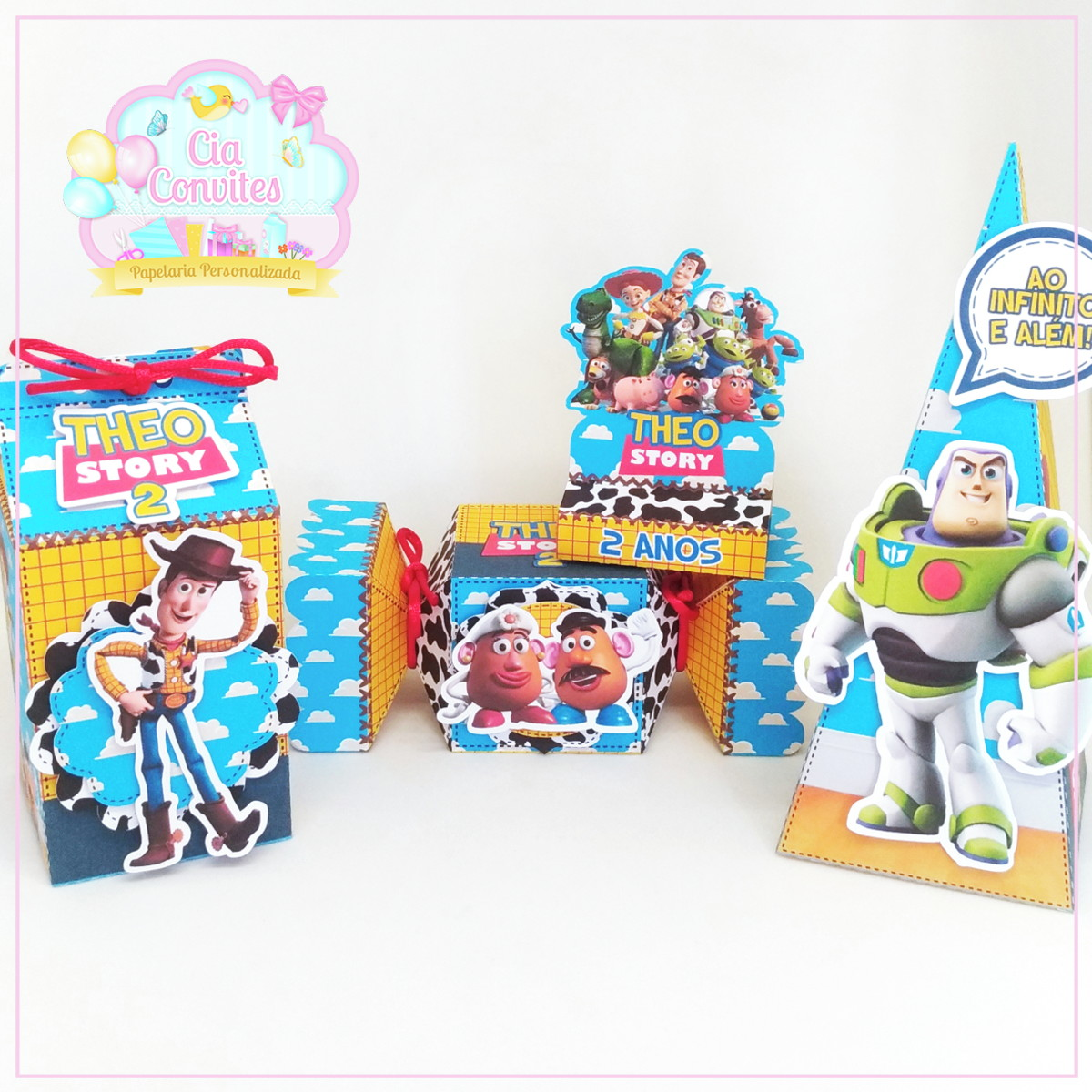 Lembrancinha Toy Story Personalizada