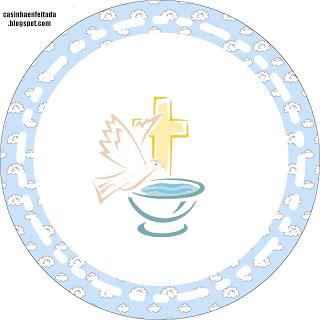 Adesivo Para Lembrancinha Batizado