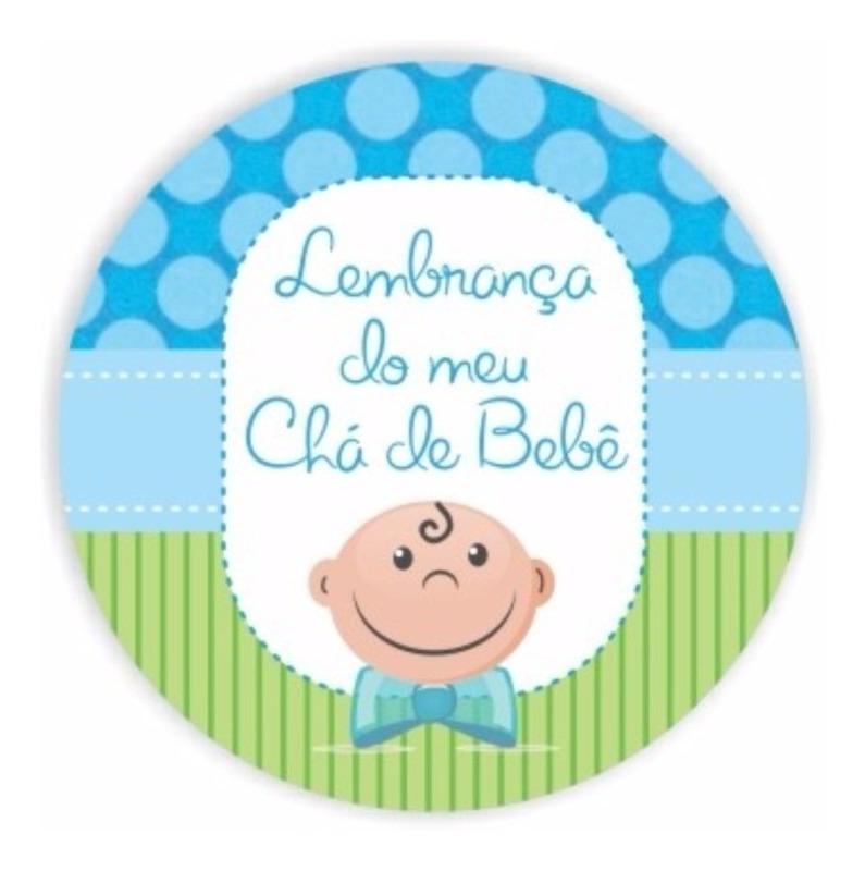 Adesivo Para Lembrancinha Chá de Bebê